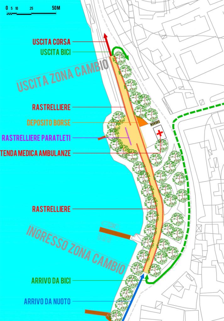 Triathlon di Lerici - Zona cambio 2013
