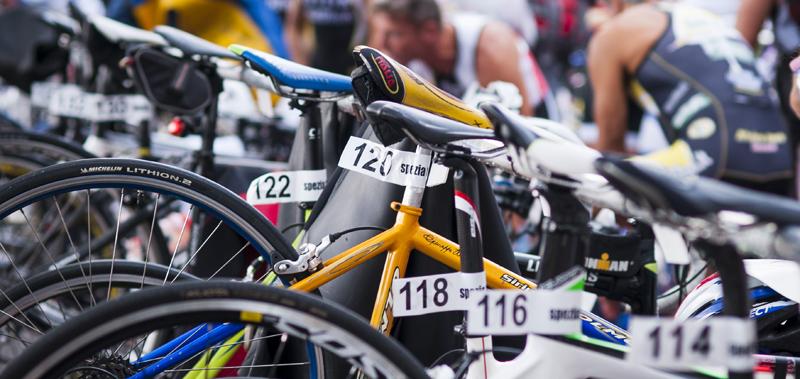 Triathlon di Lerici 2013 - rastrelliere