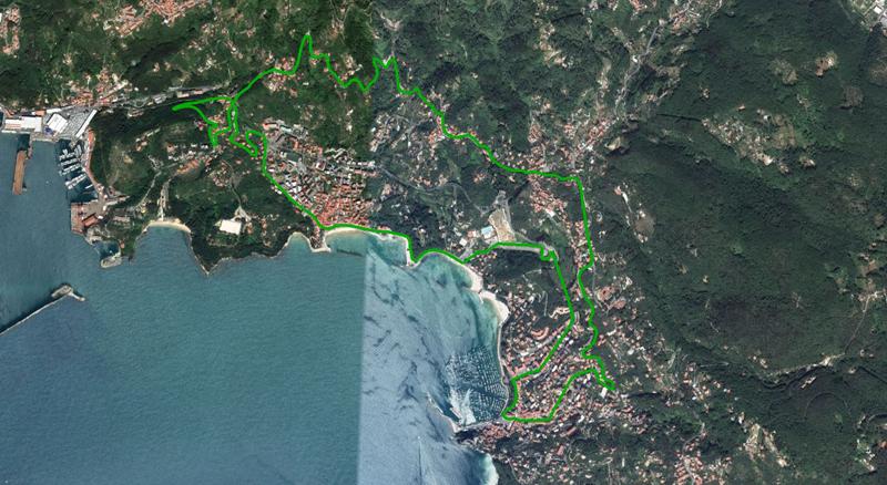 Triathlon di Lerici 2013 - Percorso ciclistico