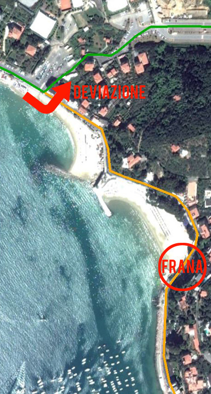 Triathlon di Lerici - modifica al percorso ciclistico